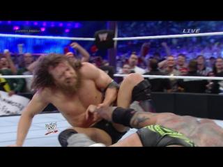 2014.04.06(4) - Трехсторонний матч. Randy Orton vs Batista vs Daniel Bryan