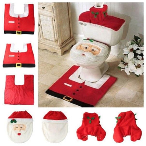 Новый год не за горами!  Пора готовиться  https://ru.aliexpress.com/store/product/2014-Hot-1-Set-4pc-Fancy-Happy-Santa-Toilet-Seat-Cover-Rug-Bathroom-Set-Decoration-Rug/508995_32225999699.html?detailNewVersion=&categoryId=100001825