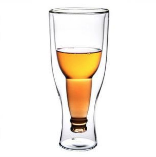 Прикольный стакан для пива  https://ru.aliexpress.com/store/product/Free-shipping-Creative-Beer-Cup-Durable-Double-Wall-Glass-Hopside-Down/809310_1362977305.html?detailNewVersion=&categoryId=100003290