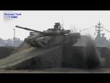 Russian Tank T 90MS - Demonstration