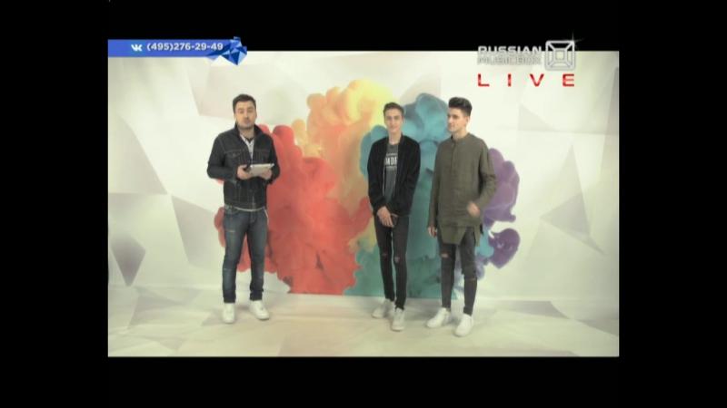 Вконтакте_live_29.05.17_блогеры HALBER Влад Беренич и Сергей Халус