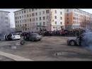 День Победы, выступление разведроты. Никель, 9 мая 2017 года