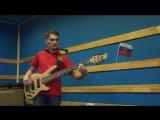 Dmitry Ershov - Гимн России в джазовой обработке для бас-гитары