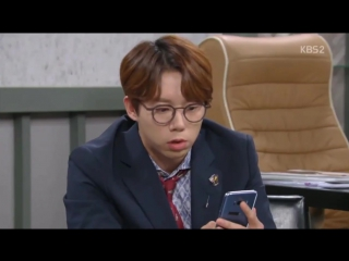 16.08.2017 U-KISS Hoon in drama 'Unknown Woman' (ep.80) cut