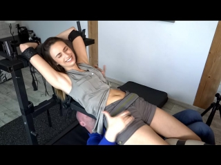 FrenchTickling - My Best Friend Plays With Lenoras UpperBody