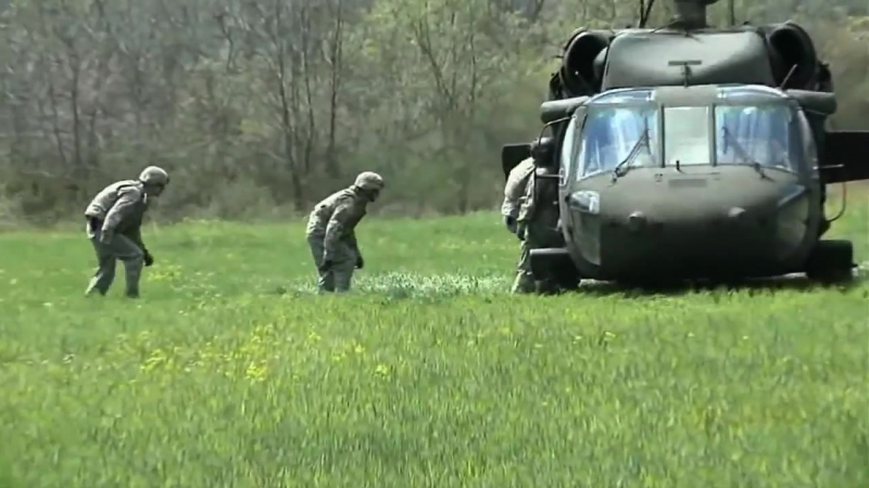 Вертолёт UH-60V Black Hawk