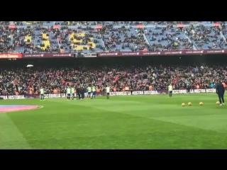 04.02.2017 Камп Ноу. Барселона-Атлетик 3-0