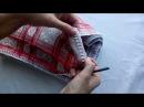 Вяжем кайму Как обвязать ткань крючком Часть 1