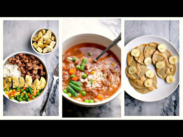 What I Ate On $1.50 a Day Budget Friendly Vegan Meals (Days 1-3)