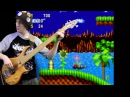 Sonic The Hedgehog Title Screen\Green Hill Zone\Level Complete BASS GUITAR cover!