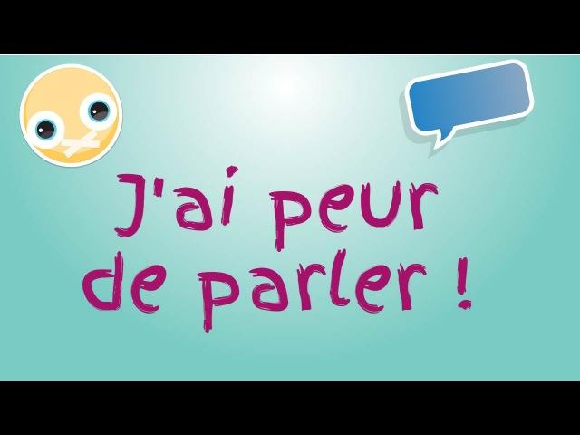 T'as peur de parler en français ?