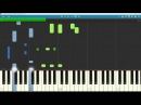 Lucifer - All along the watchtower piano tutorial/synthesia