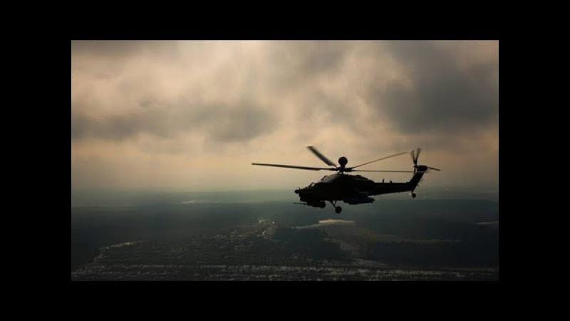 Крадущийся «Ночной охотник» основной ударный вертолет ВКС РФ Ми-28Н за 90 секунд