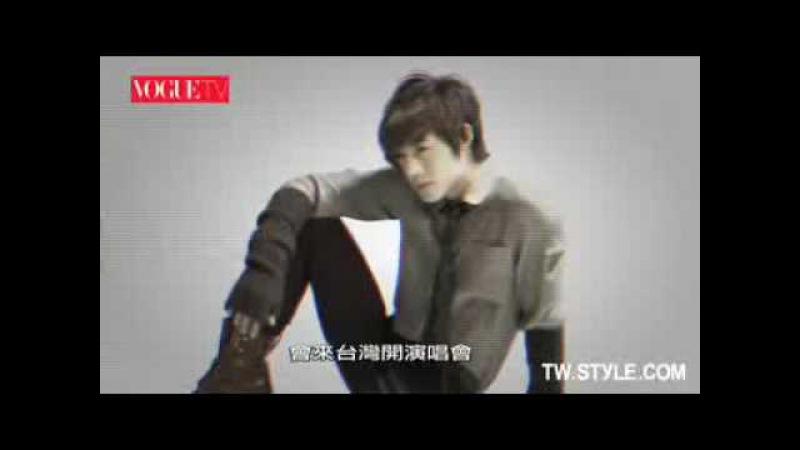 Kim Hyun Joong - (TV Vogue making)