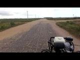 Поездка за дровами на мотоблоке мтз Беларус-09Н