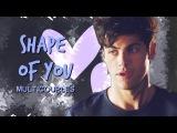 Multicouples ✘ Shape of you [3k subs]