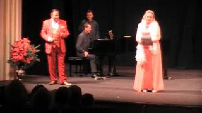 Vladimír Koval Liana Sass in humorous koncert (2)