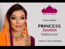 No.2 PRINCESS JASMIN ORIENTAL COLORFUL MAKEUP by Emese Backai 1001 NIGHT MAKEUP COLLECTION