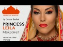 No.4 PRINCESS LEILA ORIENTAL COLOR MAKEUP IN FIRE TONES by Emese Backai 1001 NIGHT COLLECTION