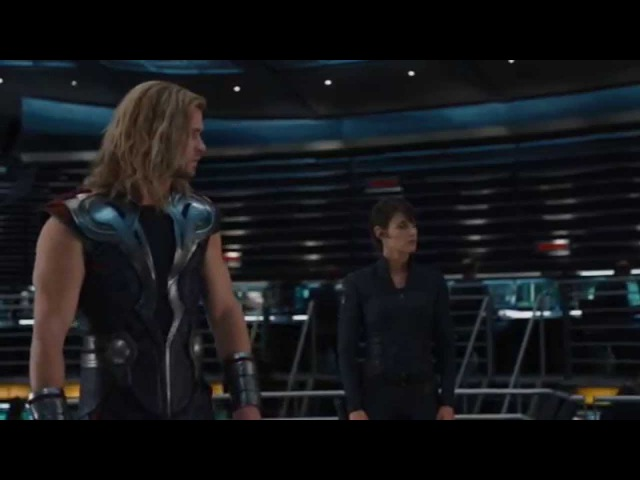 Momentos divertidos en The Avengers Los Vengadores HD Audio español Latino