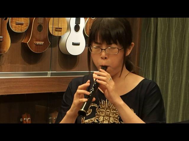 Michi-san Plays Black Orpheus on Xaphoon @ Ukulele Mania, 2016/07/23