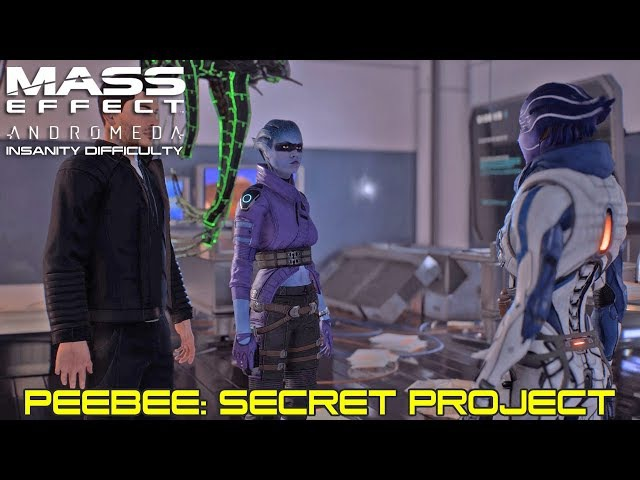 Mass Effect Andromeda - Allies and Relationships - Peebee: Secret Project - Insanity