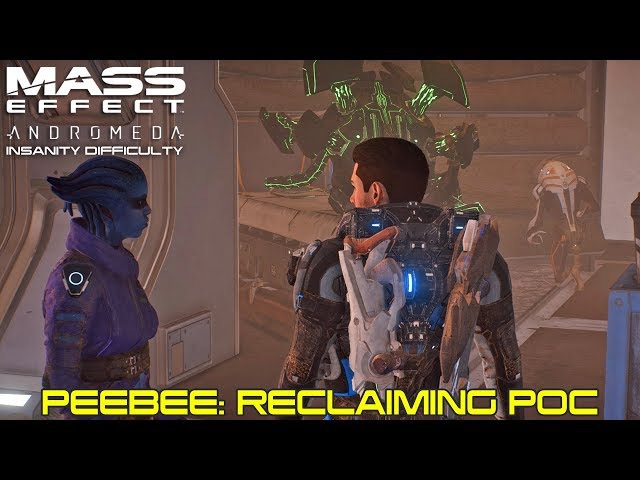 Mass Effect Andromeda - Allies and Relationships - Peebee: Reclaiming Poc