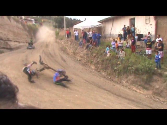 Carrera de coches pimampiro - derrape 23 de mayo 2015 fiestas