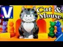 👦 КОШКИ МЫШКИ Кот Макс против мышей Игра Cat Mouse Kids Board Game Ravensburger