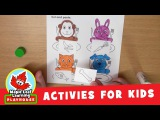 Feed Animals Activity for Kids Maple Leaf Learning Playhouse