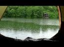 Шум дождя в палатке успокаивает и умиротворяет видео HD Nature sounds sound of rain relax
