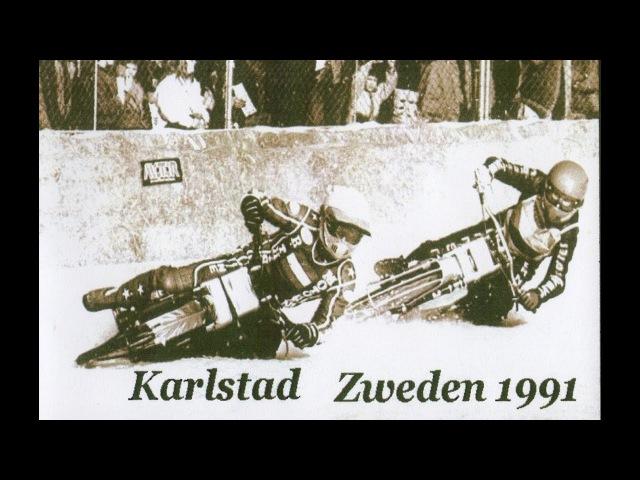 IJsspeedway Karlstad 1991 WK - halve FINALE Zweden