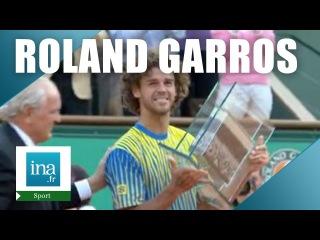 Roland Garros 2008 : Les adieux de Kuerten   Archive INA