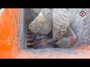 Как работает каменная дробилка челюсти