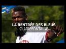 Equipe de France: la rentrée des Bleus à Clairefontaine