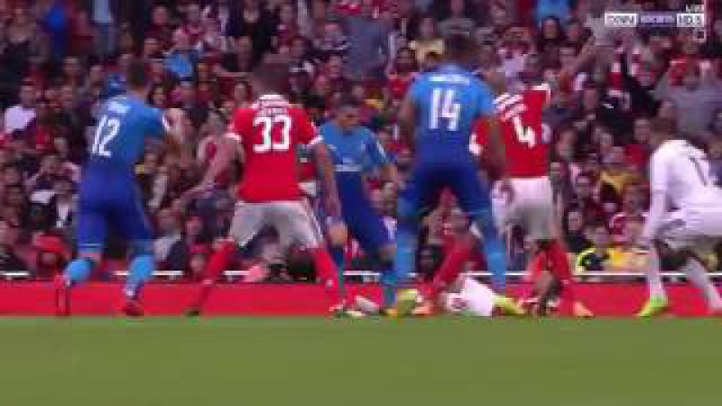 Arsenal - Benfica 5:2 All Goals Highlights Halftime. Emarate Cup 29.07.2017