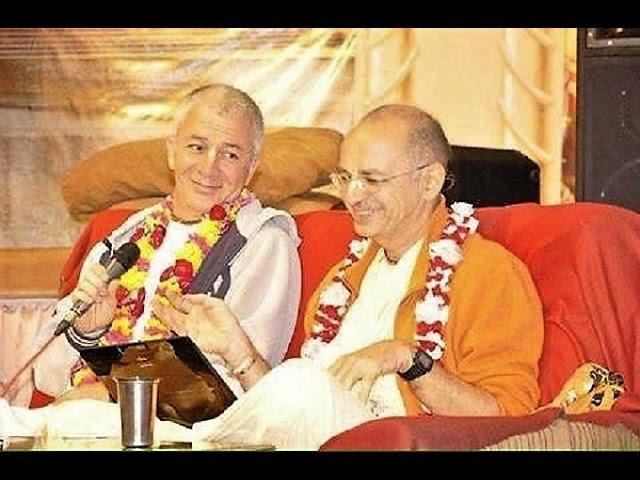 Е.С.Бхакти Вигьяна Госвами Е.М.Чайтанья Чандра Чаран Прабху (Джапа-ретрит 2017)