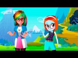 Miraculous Ladybug Speededit  Transformation Sabrina Rainbow Dash MLP