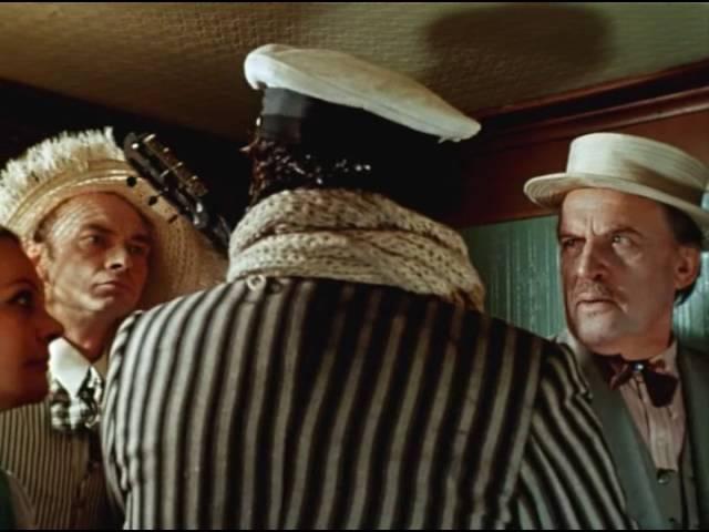 Танго на параходе фильм 12 стульев поет Андрей Миронов