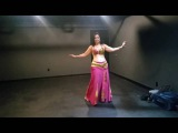 How To Do A Belly Dance Backstage Warm Up in Costume
