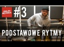 Drum School 3 - Podstawowe rytmy perkusyjne - lekcje gry na perkusji - (eng sub) - drum lessons