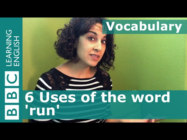 Kids' English | Vocabulary - 6 ways to use the word 'run' - Murders in the Rue Morgue part 1