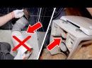 Как НЕ надо подключать унитаз. Устранение протечек и запахов. Система инсталляц