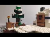 LEGO Minecraft 21120 Cнежное убежище Обзор конструктора Лего Майнкрафт на русском Варлорд Лего видео