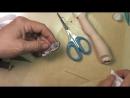 Как сделать туфли для куклы. МК от Дианы Эффнер. Часть 3. Подошва для туфель