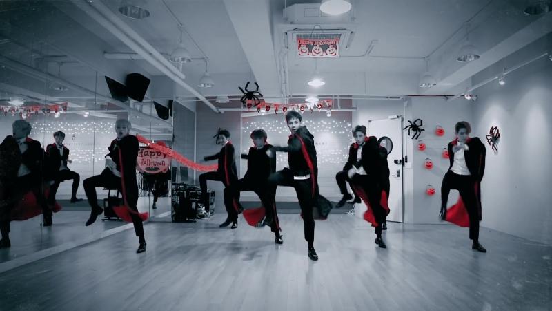 [Dance Practice] 몬스타엑스 (MONSTA X) - 히어로(HERO) Halloween ver. [VK]