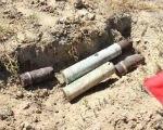В Лаганском районе нашли боеприпасы времен ВОВ