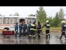 Награждение за 1 МЕСТО на Чемпионате по пожарно-строевой подготовке среди гарнизонов Республики Карелия в 2017 году