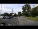 Авария на проспекте Космонавтов в Екатеринбурге.