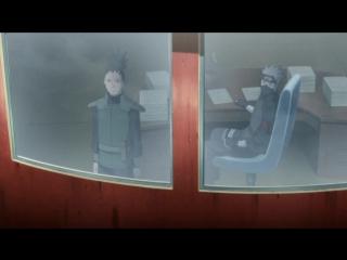 Naruto Shippuuden 489 эпизод   Rain Death   HD   История Шикамару : Облако , Плывущее в Тихом Сумраке - Положение дел